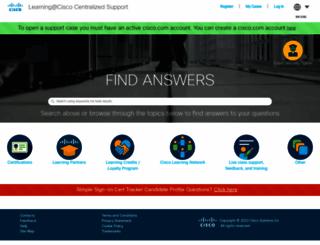 ciscocert.force.com screenshot