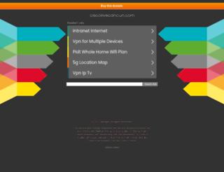 ciscolivecancun.com screenshot