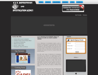 cisdetectives.org screenshot