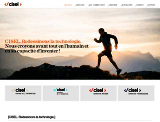 cisel.ch screenshot