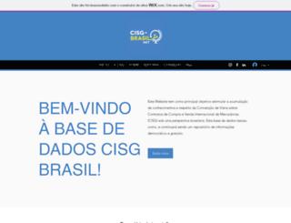 cisg-brasil.net screenshot