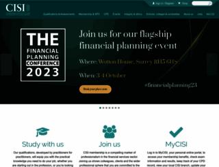 cisi.org screenshot