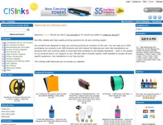 cisinks.com screenshot