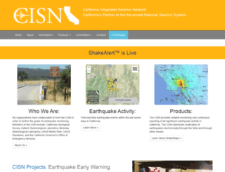cisn.org screenshot