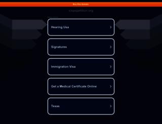 cispapetition.org screenshot
