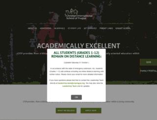 cisprague.org screenshot
