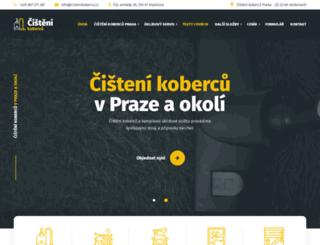 cistenikobercu.cz screenshot