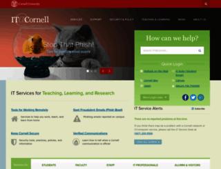 cit.cornell.edu screenshot