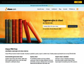 citace.com screenshot