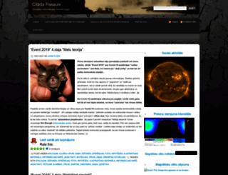 citadapasaule.wordpress.com screenshot