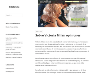 citalandia.com screenshot