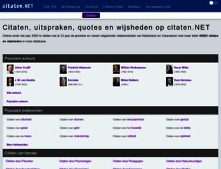 citaten.net screenshot