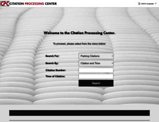 citationprocessingcenter.com screenshot
