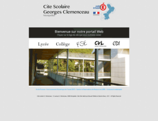 cite-clemenceau-montpellier.fr screenshot