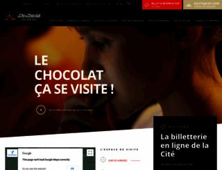 citeduchocolat.com screenshot