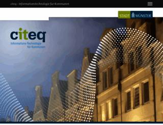 citeq.de screenshot