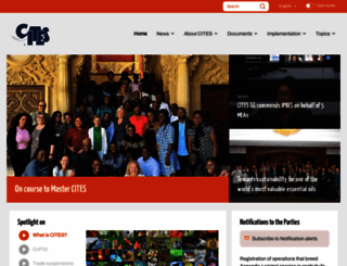 cites.org screenshot