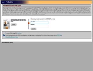 citgo.cdc.gov screenshot