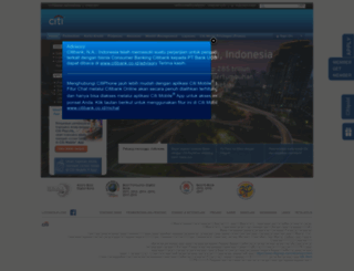 citibank.co.id screenshot