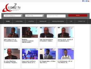citibiz.tv screenshot