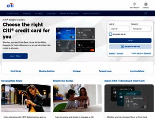 citicorp.com screenshot