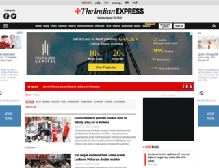 cities.expressindia.com screenshot