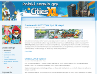 citiesxl.com.pl screenshot