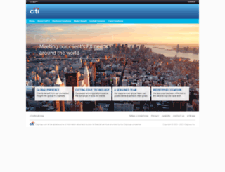 citifx.com screenshot