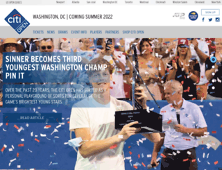 citiopentennis.com screenshot