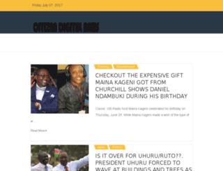 citizen-news.co.ke screenshot