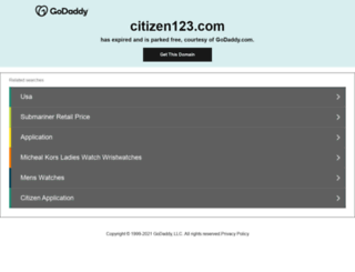 citizen123.com screenshot