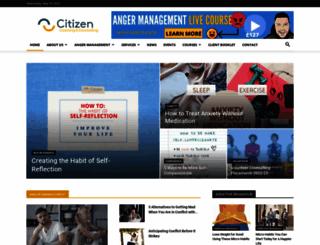 citizencoaching.com screenshot