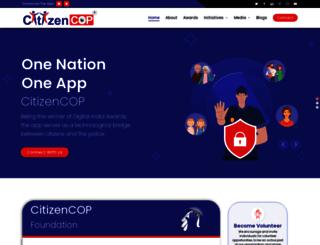 citizencop.org screenshot