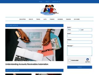 citizeneffect.org screenshot