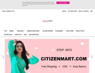 citizenmart.com screenshot