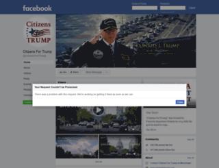 citizensfortrump.com screenshot