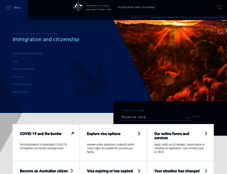citizenship.gov.au screenshot