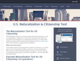 citizenshipquestions.org screenshot