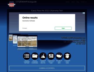 citizenshipstudyguide.com screenshot