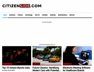 citizenside.com screenshot