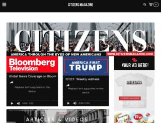 citizensmagazine.com screenshot
