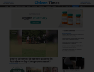 citizentimes.com screenshot