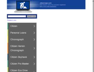 citizenvape.com screenshot