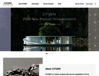 citizenwatch-global.com screenshot