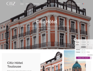 citizhotel.com screenshot