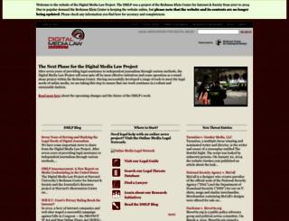 citmedialaw.org screenshot