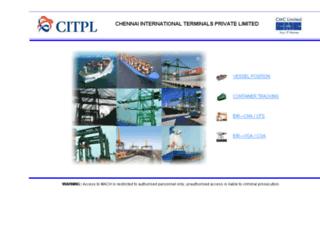 citpltos.co.in screenshot