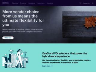 citrix.com screenshot