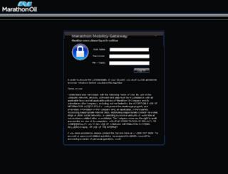 citrix.marathonoil.com screenshot
