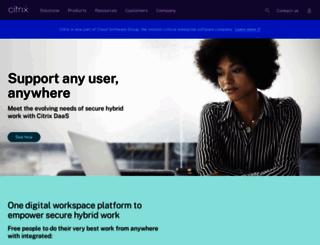citrixdata.com screenshot